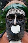 Tribal chief, Pajo, Mount Hagen, Highlands, Papua New Guinea, Pacific Stock Photo - Premium Rights-Managed, Artist: Robert Harding Images, Code: 841-06344091