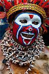 Colourfully dressed and face painted local tribes celebrating the traditional Sing Sing in Paya, Papua New Guinea, Melanesia, Pacific Stock Photo - Premium Rights-Managed, Artist: Robert Harding Images, Code: 841-06344108