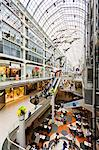 Toronto Eaton Centre Shopping Mall, Toronto, Ontario, Canada, North America Stock Photo - Premium Rights-Managed, Artist: Robert Harding Images, Code: 841-06344153