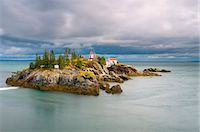 East Quoddy (Head Harbour) Lighthouse, Campobello Island, New Brunswick, Canada, North America Stock Photo - Premium Rights-Managednull, Code: 841-06344233