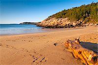 Sandy Beach, Acadia National Park, Mount Desert Island, Maine, New England, United States of America, North America Stock Photo - Premium Rights-Managednull, Code: 841-06344244