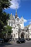 Royal Courts of Justice, City of London, England, United Kingdom, Europe Stock Photo - Premium Rights-Managed, Artist: Robert Harding Images, Code: 841-06344309