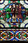 Medieval stained glass depicting the Murder of St. Thomas a Becket, Canterbury Cathedral, UNESCO World Heritage Site, Canterbury, Kent, England, United Kingdom, Europe Stock Photo - Premium Rights-Managed, Artist: Robert Harding Images, Code: 841-06344330
