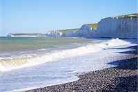 Birling Gap and chalk cliffs of the Seven Sisters, East Sussex, South Downs National Park, England, United Kingdom, Europe Stock Photo - Premium Rights-Managednull, Code: 841-06344359