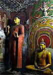 Ananda, Buddha's favorite student, Cave of the Divine King, Dambulla Cave Temple, UNESCO, World Heritage Site  Sri Lanka, Asia Stock Photo - Premium Rights-Managed, Artist: Robert Harding Images, Code: 841-06344426