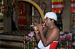 Man playing Horanewa, Tooth Sanctuary, Temple of the Tooth Relic, Kandy, Sri Lanka, Asia Stock Photo - Premium Rights-Managed, Artist: Robert Harding Images, Code: 841-06344481