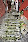 Medieval cobbled back streets of Varenna, Lake Como, Lombardy, Italy, Europe Stock Photo - Premium Rights-Managed, Artist: Robert Harding Images, Code: 841-06344549
