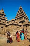 The Shore Temple, Mamallapuram (Mahabalipuram), UNESCO World Heritage Site, Tamil Nadu, India, Asia Stock Photo - Premium Rights-Managed, Artist: Robert Harding Images, Code: 841-06344591