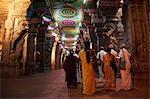Interior, Sri Meenakshi temple, Madurai, Tamil Nadu, India, Asia Stock Photo - Premium Rights-Managed, Artist: Robert Harding Images, Code: 841-06344633