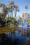 Majorelle Gardens, Marrakesh, Morocco, North Africa, Africa Stock Photo - Premium Rights-Managed, Artist: Robert Harding Images, Code: 841-06344795