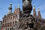 Magna Plaza and ornate lamp post, Amsterdam, Holland, Europe Stock Photo - Premium Rights-Managed, Artist: Robert Harding Images, Code: 841-06344837