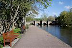 Bridge over the Wye River, Bakewell, Derbyshire, England, United Kingdom, Europe Stock Photo - Premium Rights-Managed, Artist: Robert Harding Images, Code: 841-06344849