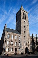 St Salvators College Chapel Tower, St Andrews, Fife, Scotland Stock Photo - Premium Rights-Managednull, Code: 841-06344945