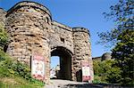 Entrance to Scarborough Castle, Scarborough, North Yorkshire, Yorkshire, England, United Kingdom, Europe Stock Photo - Premium Rights-Managed, Artist: Robert Harding Images, Code: 841-06345065