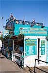 Seafood stall at South Sands, Scarborough, North Yorkshire, Yorkshire, England, United Kingdom, Europe Stock Photo - Premium Rights-Managed, Artist: Robert Harding Images, Code: 841-06345083