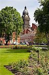 Leeds Town Hall from Park Square, Leeds, West Yorkshire, Yorkshire, England, United Kingdom, Europe Stock Photo - Premium Rights-Managed, Artist: Robert Harding Images, Code: 841-06345107