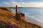 Ruins of Wheal Coates Tin Mine engine house, near St Agnes, Cornwall, England Stock Photo - Premium Rights-Managed, Artist: Robert Harding Images, Code: 841-06345143