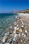 Balos beach and Mount Kerketeas, Ormos Koumeikon, Samos, Aegean Islands, Greece Stock Photo - Premium Rights-Managed, Artist: Robert Harding Images, Code: 841-06345176