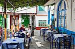 Greek taverna in centre of mountain village, Vourliotes, Samos, Aegean Islands, Greece Stock Photo - Premium Rights-Managed, Artist: Robert Harding Images, Code: 841-06345191