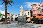 Lion Square, Samos Town, Samos, Aegean Islands, Greece Stock Photo - Premium Rights-Managed, Artist: Robert Harding Images, Code: 841-06345213