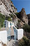 Chapel below Cave of Pythagoras, Mount Kerketeas, near Kambos, Samos, Aegean Islands, Greece Stock Photo - Premium Rights-Managed, Artist: Robert Harding Images, Code: 841-06345230
