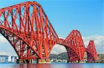 Forth Rail Bridge over the Firth of Forth, South Queensferry near Edinburgh, Lothian, Scotland Stock Photo - Premium Rights-Managed, Artist: Robert Harding Images, Code: 841-06345365