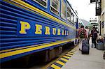 Peru rail train, peru, peruvian, south america, south american, latin america, latin american South America Stock Photo - Premium Rights-Managed, Artist: Robert Harding Images, Code: 841-06345393