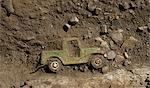 Truck compounded in dirt and stones Stock Photo - Premium Royalty-Free, Artist: CulturaRM, Code: 649-06352679