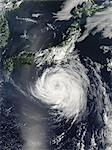 Hurricane Seen From Space Stock Photo - Premium Rights-Managed, Artist: Aflo Relax, Code: 859-06354589