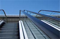Close-Up of Escalators Stock Photo - Premium Rights-Managednull, Code: 700-06355105