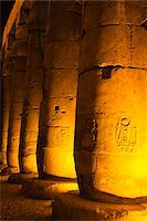 egypt - Hieroglyphs on Columns, Luxor Temple, Luxor, Egypt Stock Photo - Premium Royalty-Freenull, Code: 600-06355337