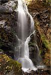 scenic waterfall Urami in Nikko, Japan at late autumn season; focus on waterfall Stock Photo - Royalty-Free, Artist: yuriz                         , Code: 400-06362123