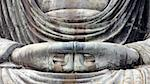 detailed image of Buddha's sculpture hands in peaceful pose; focus on hands Stock Photo - Royalty-Free, Artist: yuriz                         , Code: 400-06362134