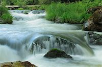 puentes - Close up of the Umia River forming  rapids, Galicia, Spain Stock Photo - Royalty-Freenull, Code: 400-06363667