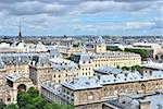 Paris, France. A top-view of the city Stock Photo - Royalty-Free, Artist: TatyanaSavvateeva             , Code: 400-06365922