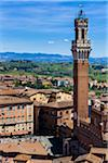 Overview of View of Palazzo Pubblico and Il Campo, Siena, Tuscany, Italy Stock Photo - Premium Rights-Managed, Artist: R. Ian Lloyd, Code: 700-06367747