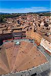 Overview of Il Campo, Siena, Tuscany, Italy Stock Photo - Premium Rights-Managed, Artist: R. Ian Lloyd, Code: 700-06367750