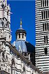 Close-Up of Siena Cathedral, Siena, Tuscany, Italy Stock Photo - Premium Rights-Managed, Artist: R. Ian Lloyd, Code: 700-06367756