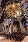 Interior of Siena Cathedral, Siena, Tuscany, Italy Stock Photo - Premium Rights-Managed, Artist: R. Ian Lloyd, Code: 700-06367762