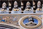 Close-Up of Busts, Siena Cathedral, Siena, Tuscany, Italy Stock Photo - Premium Rights-Managed, Artist: R. Ian Lloyd, Code: 700-06367766
