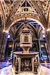 Baptistry of Siena Cathedral, Siena, Tuscany, Italy Stock Photo - Premium Rights-Managed, Artist: R. Ian Lloyd, Code: 700-06367770