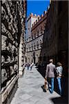People Walking by Palazzo Chigi-Saracini, Siena, Tuscany, Italy Stock Photo - Premium Rights-Managed, Artist: R. Ian Lloyd, Code: 700-06367774