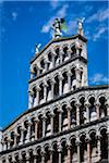 Close-Up of Church of San Michele in Foro, Lucca, Tuscany, Italy Stock Photo - Premium Rights-Managed, Artist: R. Ian Lloyd, Code: 700-06367799