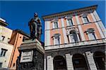 Statue of Garibaldi in Piazza Garibaldi, Pisa, Tuscany, Italy