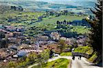 Overview of Greve in Chianti, Tuscany, Italy Stock Photo - Premium Rights-Managed, Artist: R. Ian Lloyd, Code: 700-06367832