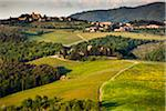Overview of Farmland, Chianti, Tuscany, Italy Stock Photo - Premium Rights-Managed, Artist: R. Ian Lloyd, Code: 700-06367883