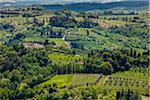 Overview of Farmland, San Miniato, Province of Pisa, Tuscany, Italy Stock Photo - Premium Rights-Managed, Artist: R. Ian Lloyd, Code: 700-06367965