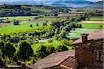 Overview from Rooftop, Poppi, Province of Arezzo, Tuscany, Italy Stock Photo - Premium Rights-Managed, Artist: R. Ian Lloyd, Code: 700-06367989