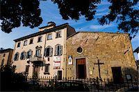 Small Church, Sansepolcro, Tuscany, Italy Stock Photo - Premium Rights-Managednull, Code: 700-06368002