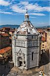 Baptistery in Piazza del Duomo, Pistoia, Tuscany, Italy Stock Photo - Premium Rights-Managed, Artist: R. Ian Lloyd, Code: 700-06368010